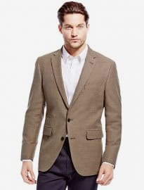 M&s Collection Pure Cotton Tailored Fit Twill Jacket