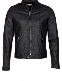 Esteban - Leather Jacket - Black