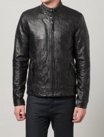 Suit Esteban - Leather Jacket - Black