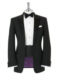 Mayfair Black Dinner Mens Suit