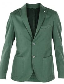 L.b.m.1911 Green Slim Fit Jacket