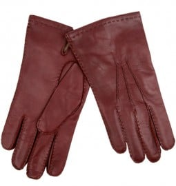 Dents Tan Cashmere Lined Leather Gloves Dents