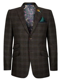 Ted Baker Sparjac Wool Check Jacket