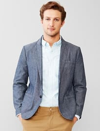 Gap Chambray Blazer