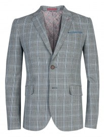 Ted Baker Rolanew - Cotton Check Blazer