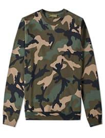 Valentino Camouflage Crew Sweat