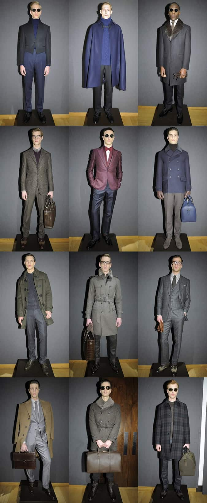 Gieves and Hawkes AW14