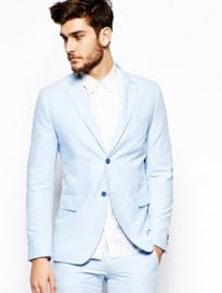 United Colors Of Benetton Suit Jacket In Slim Fit