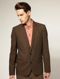 Minimum Tweed Elbow Patch Blazer