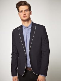 Asos Slim Fit Navy Blazer