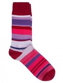 Paul Smith Winding Stripe Socks