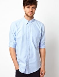 American Apparel Washed Oxford Shirt