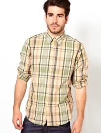 Gant Rugger Shirt With Madras Check