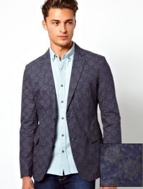 United Colors Of Benetton Blazer With Floral Print