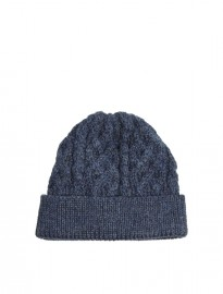 Asos Beanie In 100% British Wool