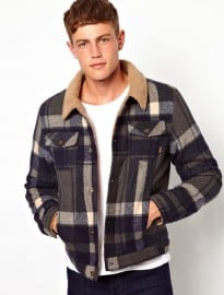 Asos Wool Check Jacket