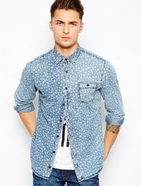 Pull&bear Denim Shirt