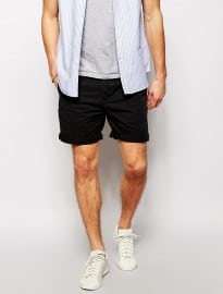 Asos Chino Shorts In Mid Length