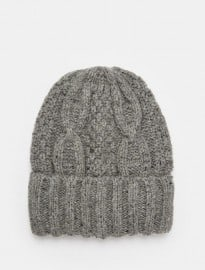 Selected Homme Cable Knit Beanie