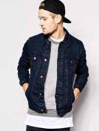 Asos Denim Jacket In Skinny Fit