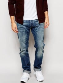 Replay Jeans New Bill Relaxed Fit Mid Wash