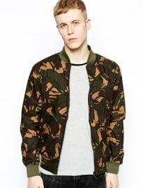Fred Perry Margate Camo Bomber