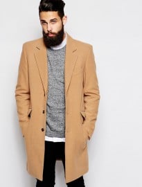 Asos Wool Overcoat