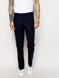 Asos Slim Fit Smart Wool Trousers
