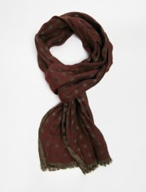 Paul Smith Polka Jaquard Scarf