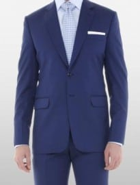 The Classic Cobalt Blue Suit