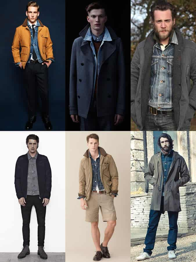 Experimenting With Layering - The Denim Jacket