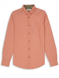 Ben Sherman Plain Chambray Long Sleeve Shirt