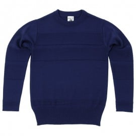 S.n.s. Herning Port Sweater Ink Blue