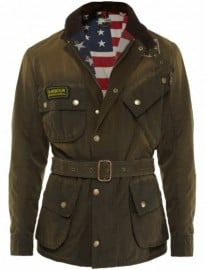 Mens Barbour Steve Mcqueen Rexton Jacket