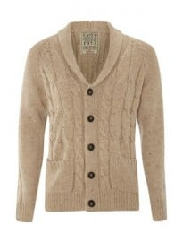 Easy Cable Cardigan