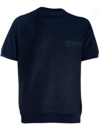 Sacai Mens Double Fabric T-shirt