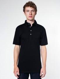 American Apparel Fine Jersey Short Sleeve Leisure Shirt