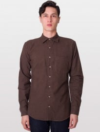 American Apparel Flannel Long Sleeve Button-up
