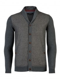 Ted Baker Bosport - Tweed Front Cardigan